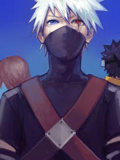 Team Minato | young Kakashi
