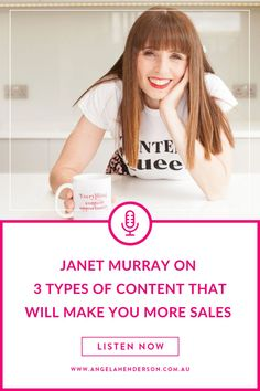 Are you writing the best content but not getting the results through sales? Content is an absolute necessity for business survival but without a strategy for using it, it doesn't do your business much good. Well, today might be your lucky day because I've invited Janet Murray to talk about the 3 types of content that will make you more sales. This jam packed episode will give you content marketing tips and tricks you can implement in your business today. Free Business Plan, Business Plan Template, Business Pages, Business Advice, Business Planning, Business Women, Content Marketing Strategy, Marketing Plan, Facebook Business