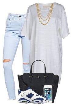"""""""Untitled #561"""" by zayani ❤ liked on Polyvore featuring The Ragged Priest, Off-White, Kate Spade and ASOS"""