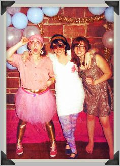 80's prom. I want to do this with my friends