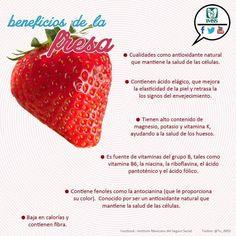 Beneficios de la fresa.