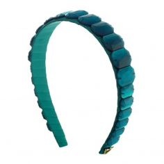 Headband by Sereni & Shentel. Ice Ice Baby Matte in Turquoise. Made in Borneo. Shop here: http://sereniandshentel.com/matte/134-matte-turquoise.html $52
