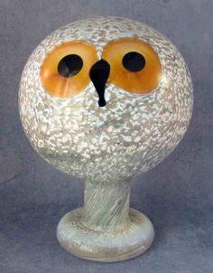 Iittala Oiva Toikka Art Glass Bird Helmipöllö Tengmalm's Owl Excellent | eBay Glass Design, Design Art, Duck Art, Scandinavian Art, Bird Sculpture, Green Art, Glass Birds, Painted Paper, Nordic Design