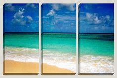 Titel: Bodem van de zee Locatie: Christ Church, Barbados  Exotische Caribische stranden met scherpe, verschillende kleuren, absoluut prachtig.  Verkoop op alle kunst! $10 couponcode: LOVEART  ✦ GALLERY GEWIKKELD doek zijn kwaliteit en scherpe afdrukken op canvas, verzegeld met een UV-coating te versterken en beschermen de archival pigment inkten en voltooid door traditioneel uitgerekt tekstomloop rond een 1,25 houten frame. KLAAR OM TE HANGEN. Hang deze 1-2 uit elkaar.  ✦ GICLEE, MUSEUM…