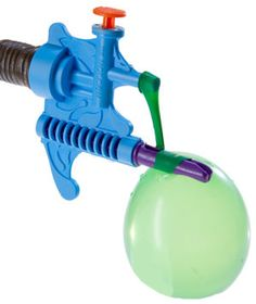 Tie-Not Water Balloon Filler and Tying Tool