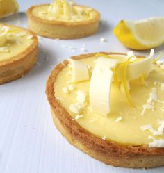 Tarte allégée au citron et chocolat blanc - Recettes de cuisine Ôdélices