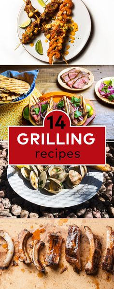 Rev up the grill for these 14 summer-ready recipes.