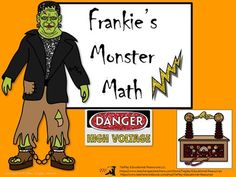 TiePlay Educational Resources LLC  from  Halloween & Frankie's Monster Math: Distances, Time, Volume, Mass and Money on TeachersNotebook.com -  (12 pages) - Frankie's Monster Math involves solving word problems about distances, time, liquid volumes, masses, money, and problems that express measurements and represent quantities using diagrams.