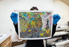 Printed and framed in our Manchester fine art production studio. Each print is produced on archival giclée paper, guaranteeing excellent quality. Production Studio, Manchester Art, Tapestry, Fine Art, Art Prints, Photo And Video, Printed, Paper, Frame