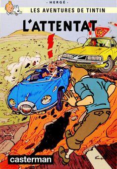 Les Aventures de Tintin - Album Imaginaire - L'Attentat