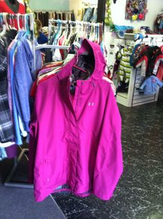 Under Armour Jacket size XL $30.00. In store only or contact us on Facebook.