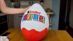Как сделать большое яйцо киндер сюрприз как у Мисс Кэти и Мистер Макса своими руками для детей vlog - YouTube