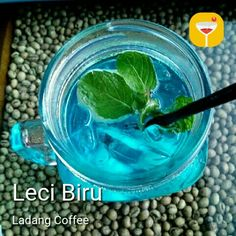 Light blue... Light drink
