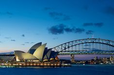View from Mrs. Macquaries Chair of Sydney Harbor Bridge and Opera House #Sydney