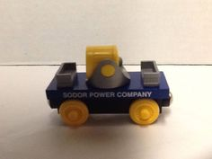 Sodor Power Company Spotlight Car Thomas  Friends Wooden Railway Gullane 2003  #Gullane