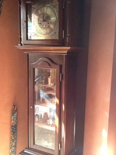 Mouse house in our grandfather clock