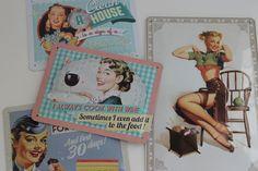 Kleurrijke platen-Nostalgic Art