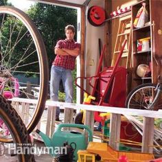 Easy Garage Storage Solutions from Family Handyman Magazine