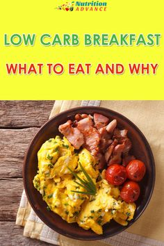 Low Carb Breakfast: 10 Delicious But Healthy Morning Meals via @nutradvance
