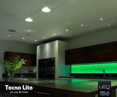 Un color, una emoción: azul, rojo, amarillo, verde… luz y color sólo con la tecnología LED de Tecno Lite.