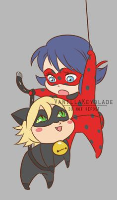 LadyNoir!! For the love--PLEASE don't repost!!**REBLOG, DON'T REPOST:vanillakeyblade.tumblr.com/pos…