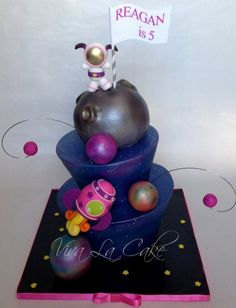 1000 images about 1st bday ideas on pinterest outer for Outer space cake design