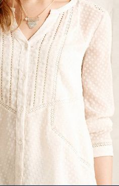 Lace obsessed. anthropologie.com #anthrofave