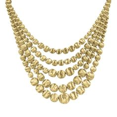 Marco Bicego Africa Gold Multi Strand Necklace