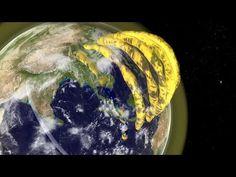 Formación de tubos de plasma sobre la Tierra