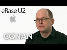 Conan Introduces Apple's U2 Removal Service Because Deleting That Free Album Isn't Enough