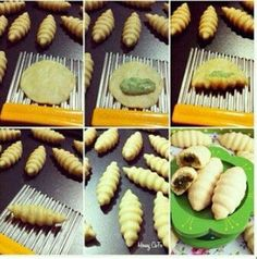 An almost gnocchi like dessert- fill with poppy seed filling or fruit preserves? From a Russian blog (it looks like) with great baking tips