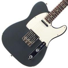 1966 Fender Telecaster, Charcoal Frost | Available at Garrett Park Guitars | www.gpguitars.com