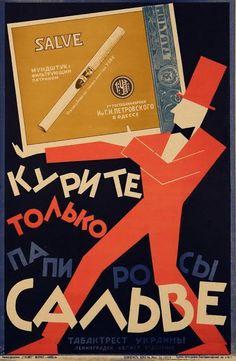 Russian cigarettes ad