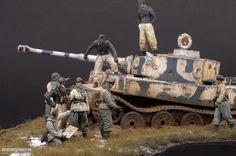 Tiger I--虎式坦克初期型场景_静态模型爱好者--致力于打造最全的模型评测网站