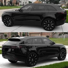 dream cars 2018 Range Rover Velar wrapped on LX-Twenty Range Rover Preto, Range Rover Evoque, Range Rovers, Range Rover 2018, Range Rover Car, Top Luxury Cars, Luxury Suv, Vintage Jeep, My Dream Car