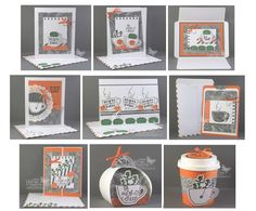 Stampin' Up! Paper Pumpkin July 2015 projects. Debbie Henderson, Debbie's Designs.