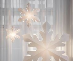 Snowflake designed by Tine Mouritsen and produced by Le Klint