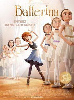 Ballerina poster, t-shirt, mouse pad Dance Movies, Kid Movies, Family Movies, Cartoon Movies, Series Movies, Disney Movies, Night Film, Ballerina Dessin Animé, Disney Cinema