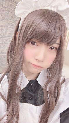 めでぃさんはTwitterを使っています Maid Cosplay, Asian Cosplay, Spring Spa, Maid Uniform, Cute Japanese Girl, Maid Dress, Kawaii Girl, More Cute, Cute Girls