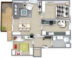 Image result for modern apartments plan