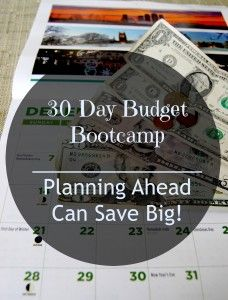 30 Day Budget Bootcamp:  Planning Ahead Can Save Big!   This includes a few different menu plans to look at, including a month long make ahead freezer menu.  There is also a gift budget spread sheet you can customize for your family!!!