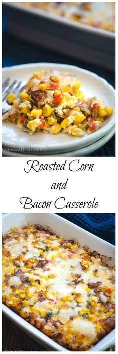 Roasted Corn and Bacon Casserole