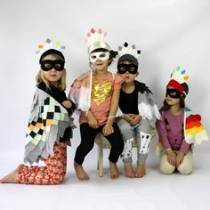 The Bird Bandit Children's Bird Costume from sparrowandcostumery