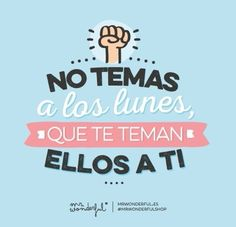 Mr Wonderful #lunes