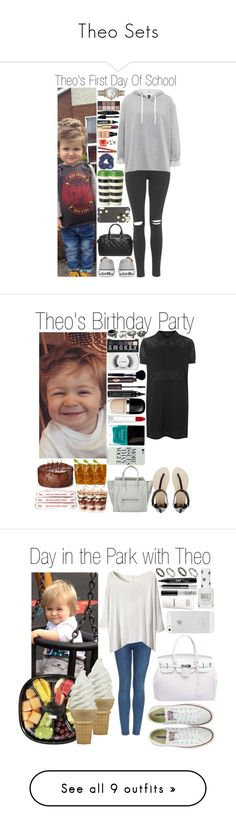 """""""Theo Sets"""" by dianasf ❤ liked on Polyvore featuring theohoran, MANGO, Topshop, Converse, Bobbi Brown Cosmetics, Casetify, By Terry, L'Oréal Paris, Max Factor and Chanel"""