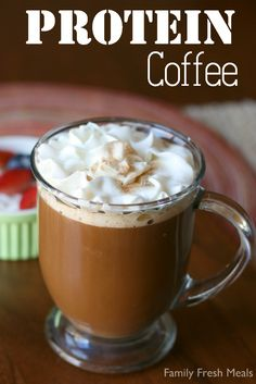 The best of both worlds. Protein Coffee