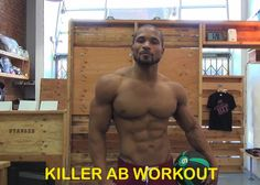 Check out this killer ab workout that I like to do as part of my full exercise routine. I try to target my abs at least 3 times a week and either during one of my workouts or after I finish doing cardio.