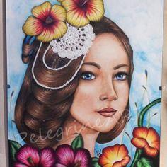 DECO : Portrait florale