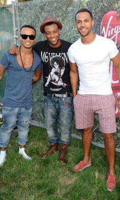 JLS @V Festival