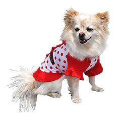 Amabili punti di stampa T-shirt per animali Cani (colori assortiti, misure) – EUR € 14.71